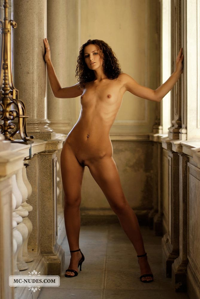 Andrea Nude On Public